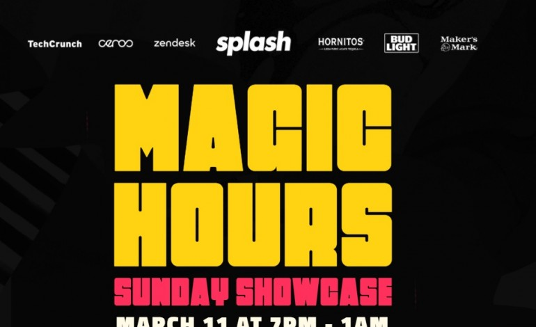 Splash Magic Hours Sunday Showcase SXSW 2018 Party Announced ft Glassio