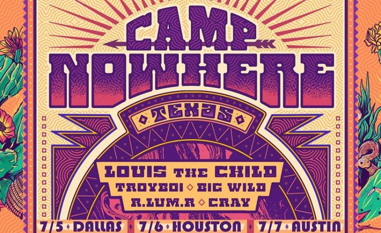 Camp Nowhere 2018: Louis the Child, Big Wild, Troyboi and more at Stubb's on Saturday, July 5th