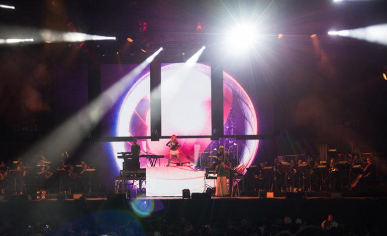 Photos: Lindsey Stirling and Evanescence at Starplex Pavilion