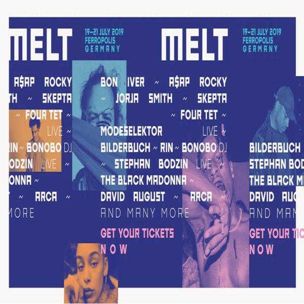 Melt Festival Announces 2019 Lineup Featuring Bon Iver, Four
