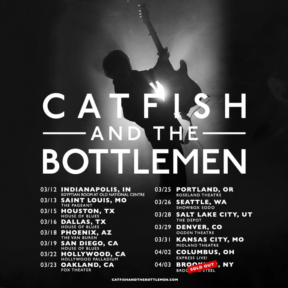 Catfish and The Bottlemen Announce Spring 2019 Tour Dates