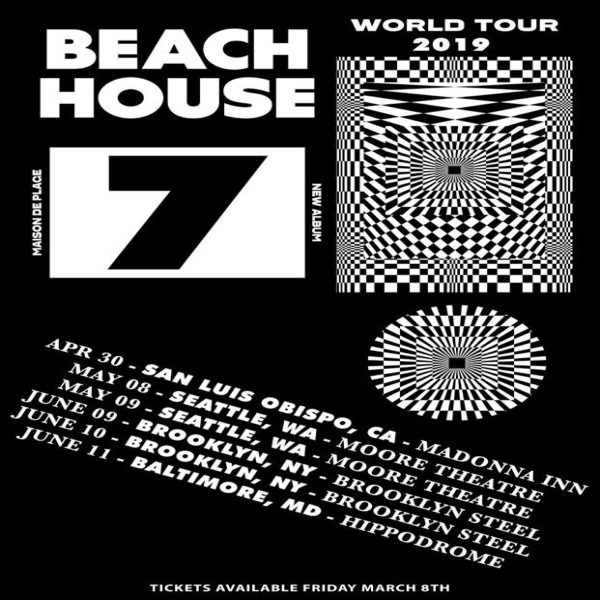 Beach House Australia New Zealand And North America Tour Dates
