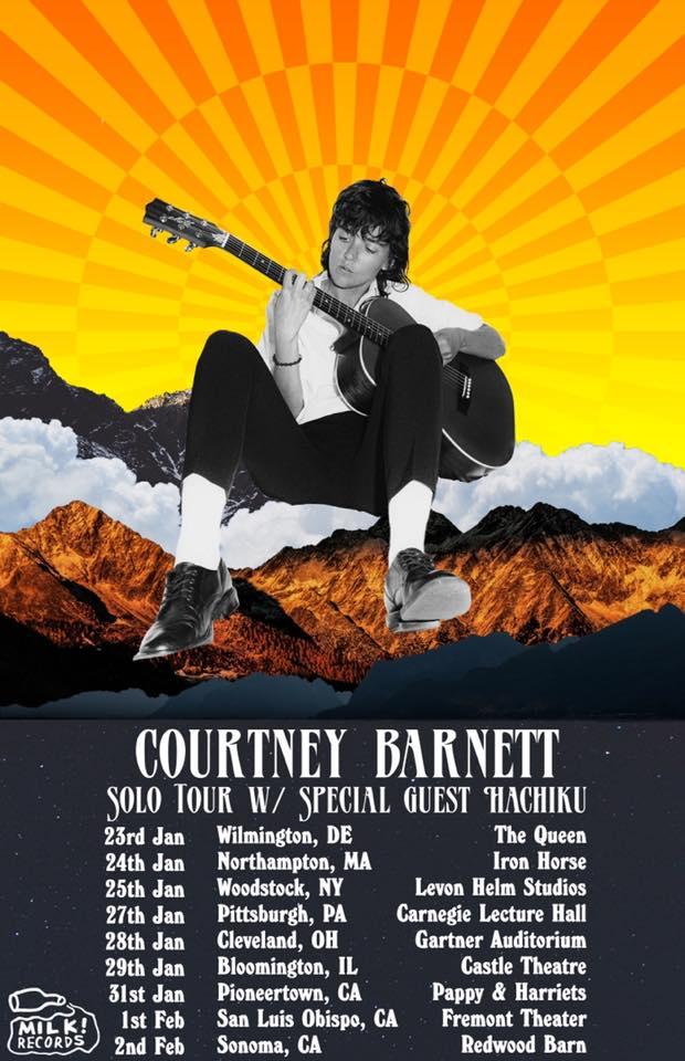 Courtney Barnett Announces Winter 2020 Solo Tour Dates
