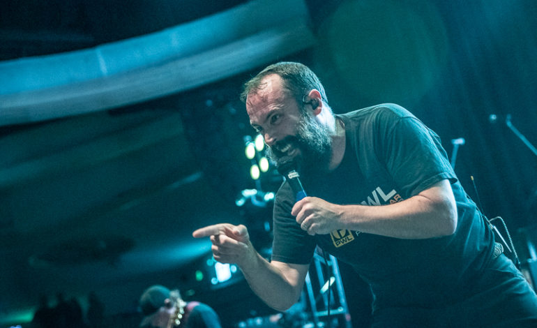 """Neil Fallon of Clutch Joins Two Minutes To Late Night and Members of Cave In, Converge and Carcass for Ripping Cover of AC/DC's """"Riff Raff"""""""