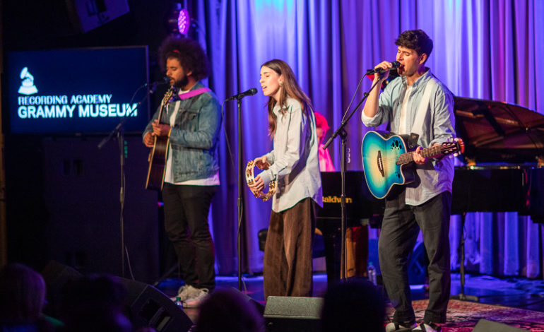 Vampire Weekend Featuring Danielle Haim Live at the Grammy Museum, Los Angeles