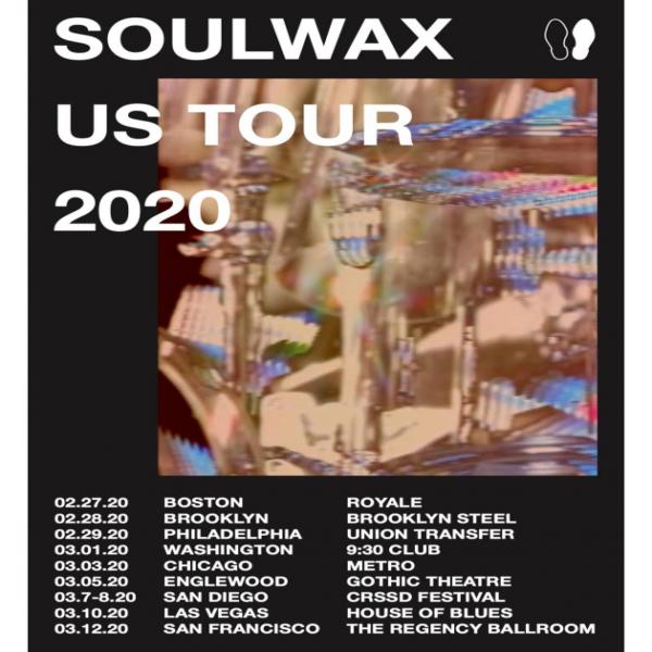 soulwax announces winter 2020 tour dates mxdwn music. Black Bedroom Furniture Sets. Home Design Ideas
