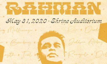 AR Rahman Brings His Musical Storm to The Shrine on 5/31