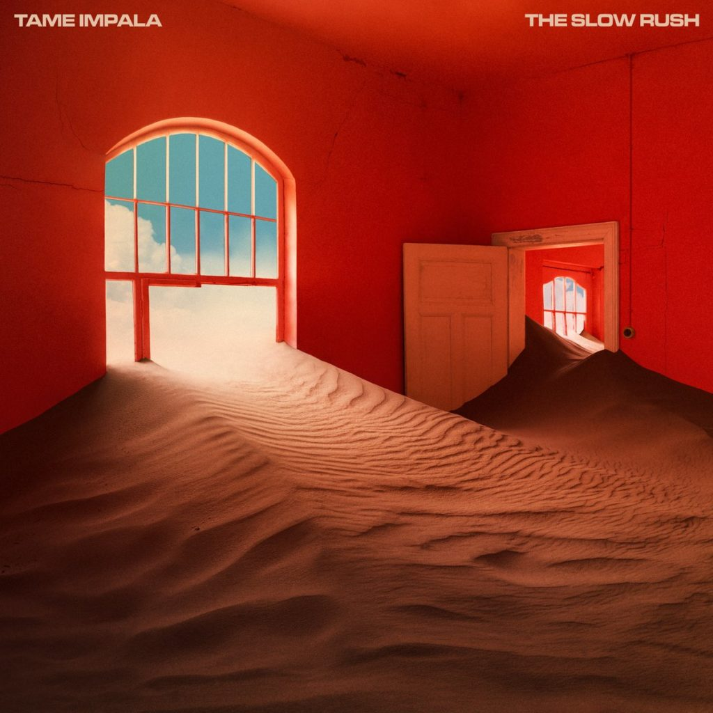 Image result for tame impala the slow rush cover