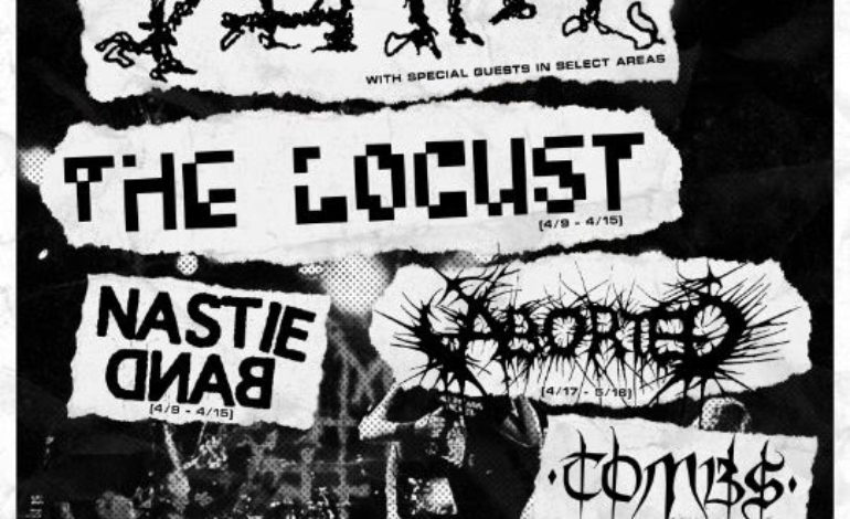 Napalm Death Brings Their Unrelenting Sound to The Belasco on 4/9