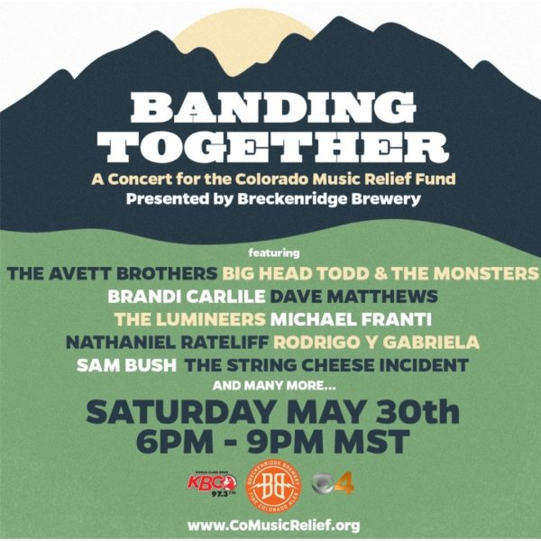 The Avett Brothers, Brandie Carlile, The Lumineers and More Come Together For CMRF Live Stream Concert