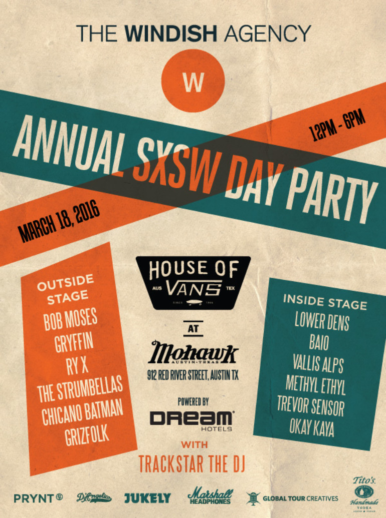 The Windish Agency SXSW 2016 Day Party Announced