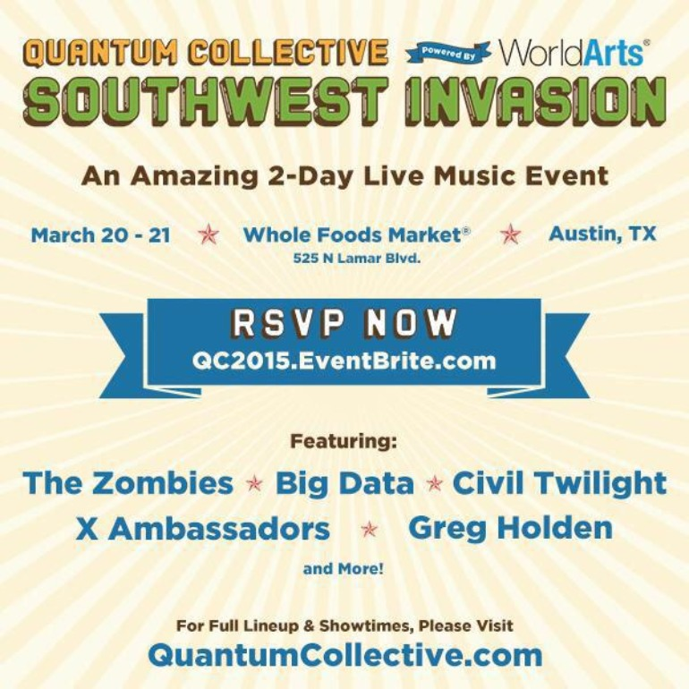 Quantum Collective's Southwest Invasion SXSW 2015 Party Announced